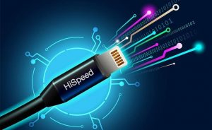 Internet cable with high speed